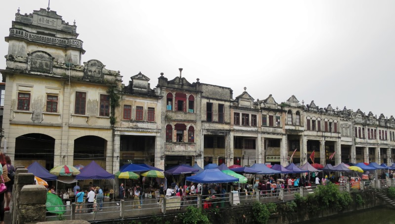 World Heritage site: Kaiping Diaolou