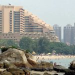 The 5 star hotel by the beach in Hong Kong: Hong Kong Gold Coast