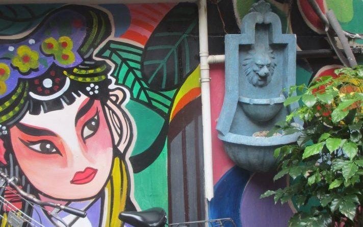 Graffiti in Shanghai