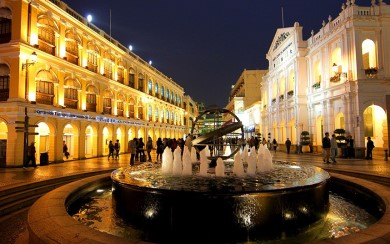The UNESCO World Heritage Site: Historical Centre of Macau