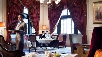 Afternoon Tea in Shanghai