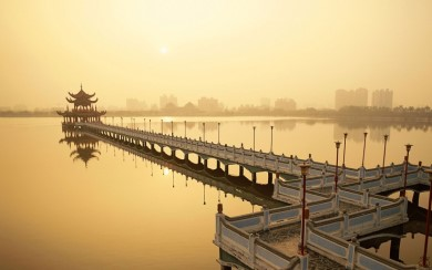 Forbidden Love between a mortal and an immortal, West Lake, Hangzhou