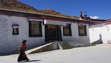 Tibet Zhashibulunsi Monastery